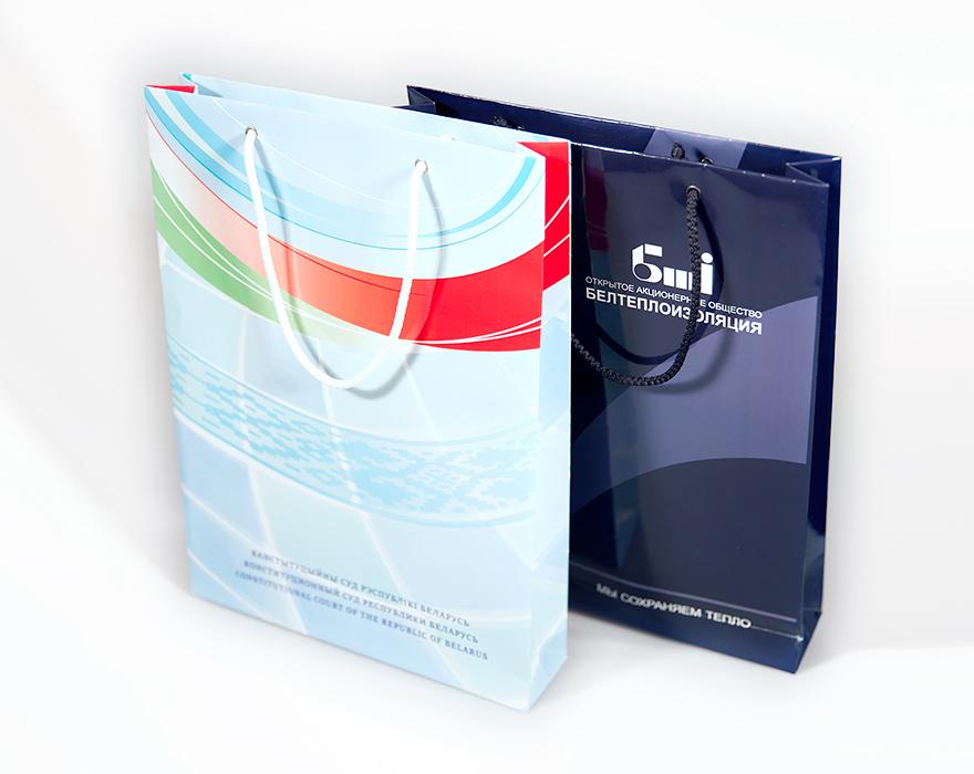 Изготовление фирменных пакетов с логотипом