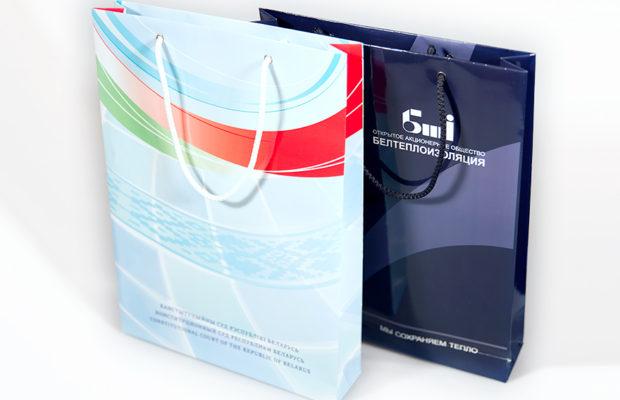 Печать фирменных пакетов