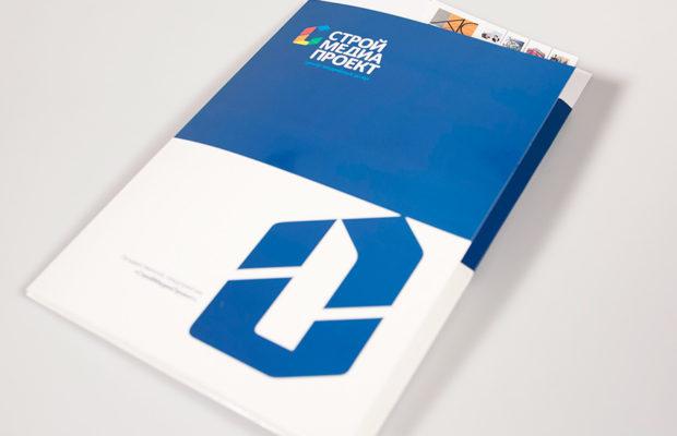 Фирменная папка с логотипом